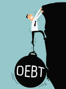 personal debt out of control